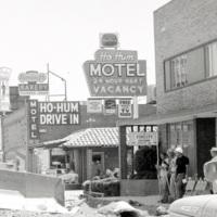 Street construction, 1965
