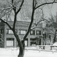 Snowy day, c.1940